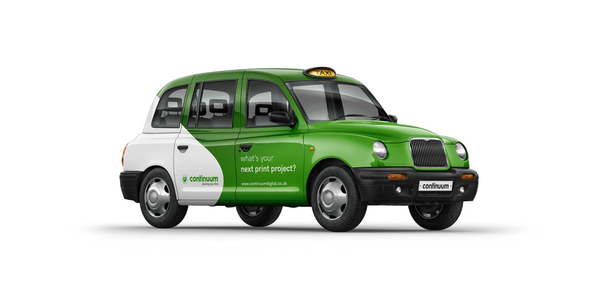 Continuum green hackney cab